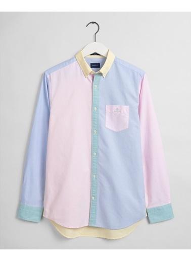 Gant Erkek Renkli Regular Fit Gömlek Renkli